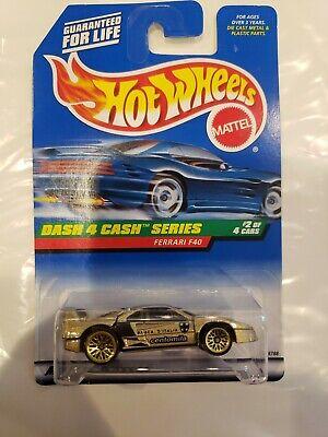Hot Wheels 1997 Dash 4 Cash Series Ferrari F40 #722 1:64 Diecast Car