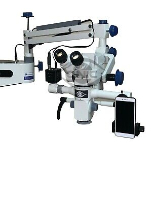 Wall Mount Tiltable Dental Operating Microscope 5 Step Magnification Iso Ce