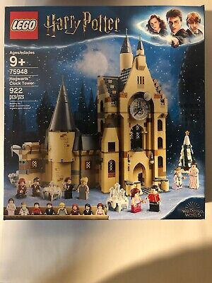 LEGO Harry Potter Hogwarts Clock Tower Set (75948) 922 Pieces NEW!!