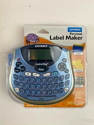 Dymo Letratag Plus Lt-100t Portable Personal Label Maker Printer Writer Qwerty