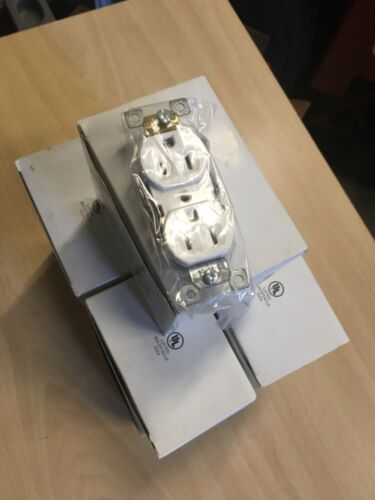 Lot Of 60, 15A White Duplex Outlets Brand new