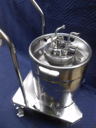 RUTTEN ENGINEERING 50L SSS 316L STAINLESS STEEL STERILE STORAGE SYSTEM VESSEL