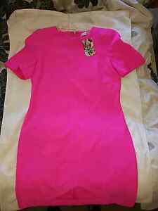 Mika & Gala Hot Pink Dress Size 12 BNWT Cannington Canning Area Preview