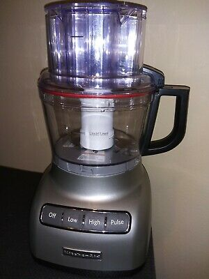 KitchenAid KFP0922CUO Silver 9-cup Food Processor (House warming gift, un-used)