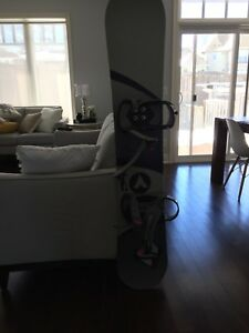 Silence snowboard with bindings and ride boots