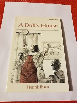 A Doll's House by Henrik Ibsen (Pacemaker Classic) Paperback--VERY GOOD-FREE S/H
