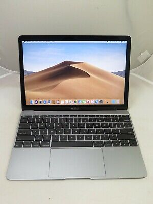 "2017 APPLE MACBOOK MNYF2LL/A 12"" CORE M3 1.2GHZ 8GB 256GB SPAGEGRAY +EXPRES SHIP"
