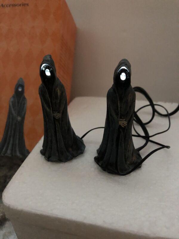 Dept 56 Halloween Village Accessory Lit Ghoulish Grim Reaper Lighted 2018