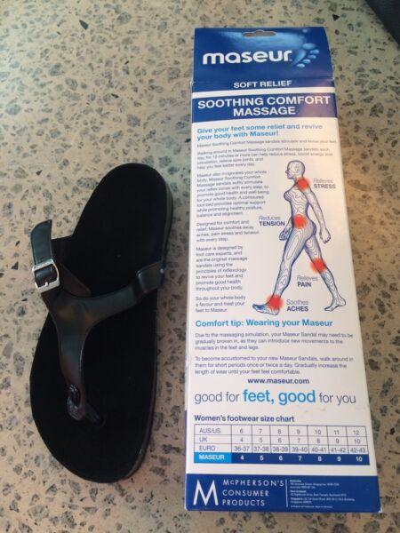 8f9f45b538fb68 Masseur sandal