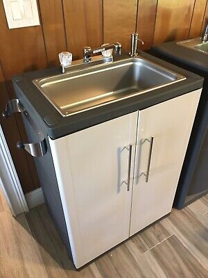 Portable Sink Nsf Mobile Handwash Sink Self Contained Hot Water Full Size