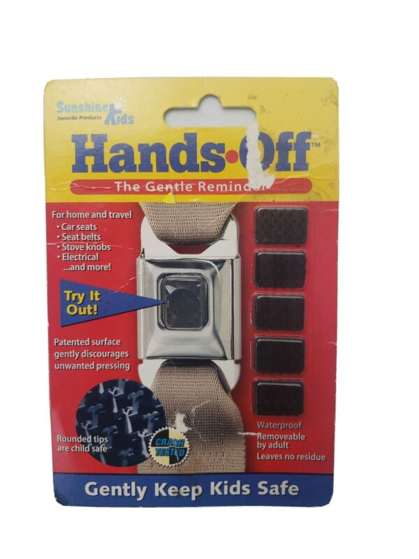 Car Seat Button Guard - Hands off