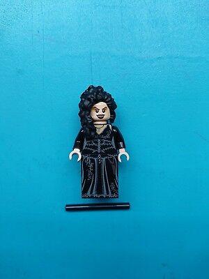 Lego Harry Potter Minifigure Bellatrix Lestrange Black Dress 4840 Burrows!