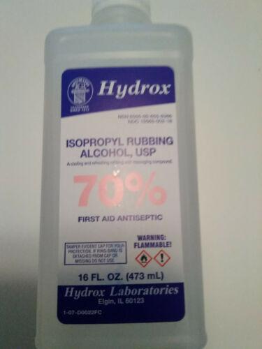 16 oz 70 Isopropyl Hydrox Brand