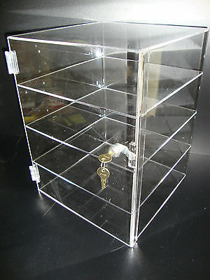 Acrylic Countertop Display Case 12 X 12 X 16 Locking Security Show Case Safe