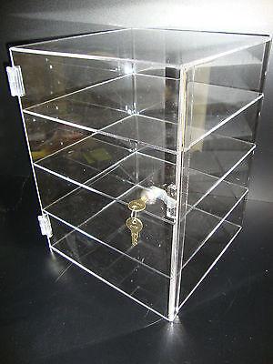 Displays2buy Acrylic Countertop Display 12 X 12 X 16 Locking Security Showcase