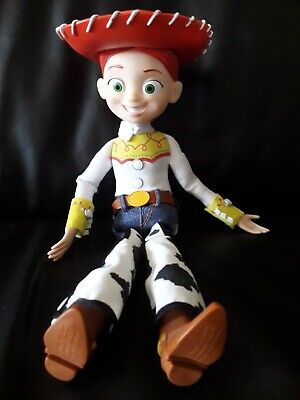 TOY STORY TALKING JESSIE PULL STRING WITH HAT DISNEY PIXAR THINKWAY TOYS