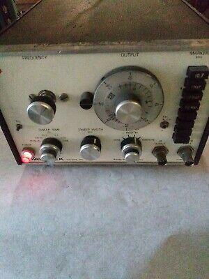Wavetek Indiana Sweepsignal Generator Model 1002