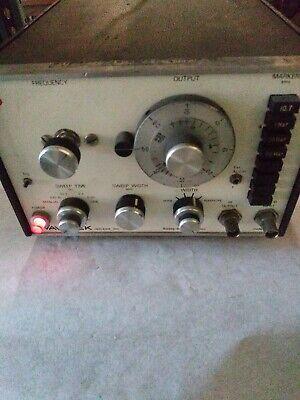 Wavetek Indiana Sweepsignal Generator Model 1002