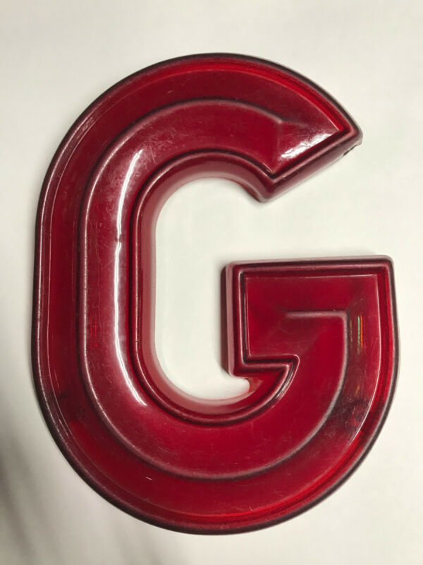 "Vintage 12"" tall Marquee Letter ""G"" from The Fabulous FOX THEATER Atlanta, GA"