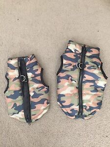 2 dog puffa jackets brand new for miniature dogs Canning Vale Canning Area Preview