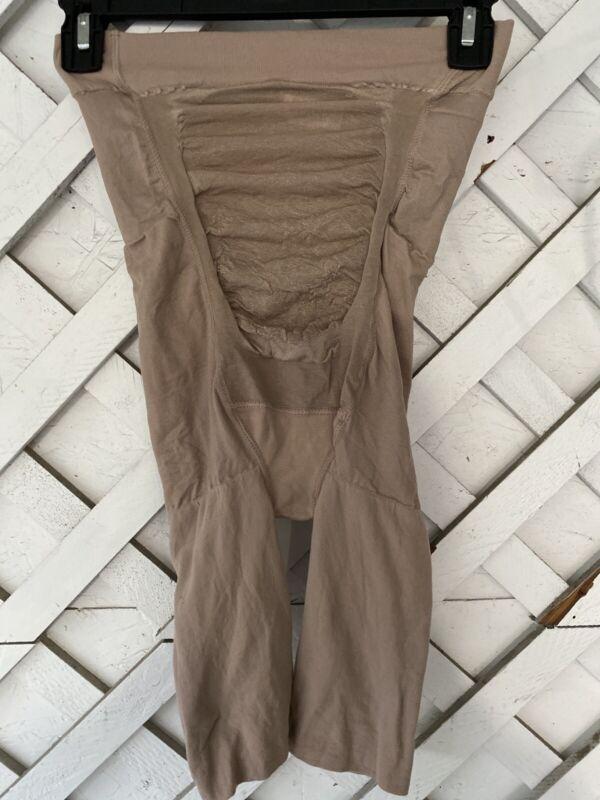 New Without Box Spanx Mama Maternity Short Nude 163 sz B $32