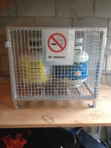 Brand new heavy duty cylinder storage cages /cabinet
