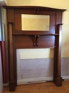 Antique Fireplace Surround/Mantle Denistone East Ryde Area Preview