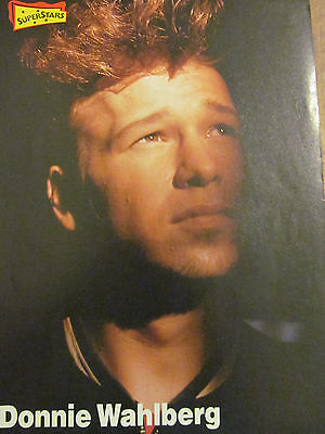 Donnie Wahlberg, New Kids on the Block, Double Full Page Vintage Pinup, NKOTB