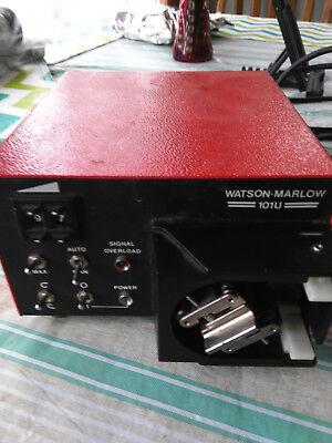 Watson Marlow 101u Bi-directional Single Channel Peristaltic Pump No Cover