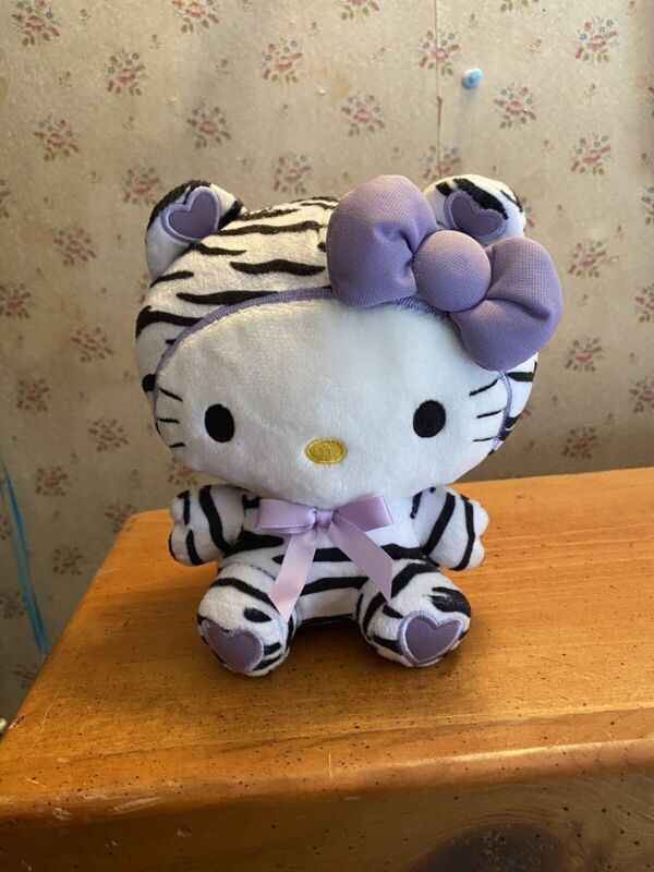 "Sanrio Hello Kitty Plush 6"" Zebra Costume"