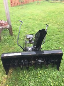 "42"" 2-stage snowblower for lawn tractor"