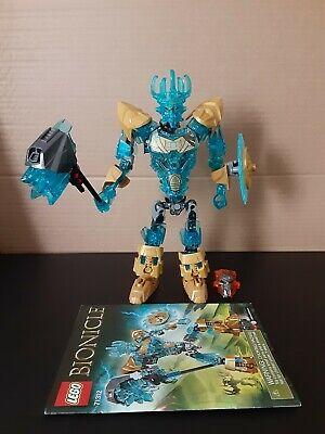 LEGO EKIMU THE MASK MAKER 71312 Set Bionicle complete w/ instructions