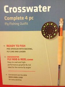 Complete 4 pc Fly Fishing Outfit