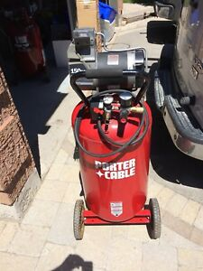 Porter cable air compressor 25 gal