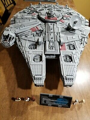 Set 10179 - Lego Star Wars UCS Millennium Falcon - Used - Complete