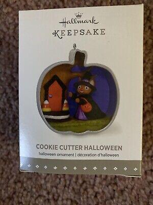 Hallmark Cookie Cutter Halloween Keepsake Ornament 2015 NEW Pumpkin Mouse
