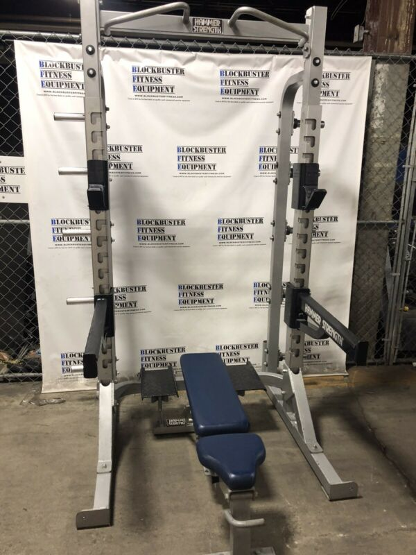 HAMMER STRENGTH OLYMPIC HEAVY DUTY HALF RACK (OHDHR) - SHIPPING NOT INCLUDED