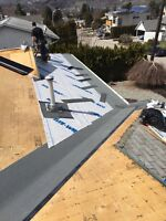 Roofing helper for low pitch roof