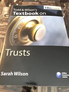 Texbook on Trusts