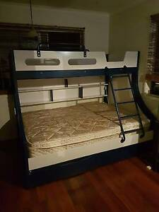 Bunk Bed - Double Bed on Bottom & Single Bed on Top Shailer Park Logan Area Preview
