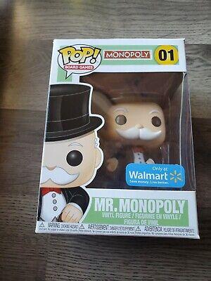 Funko Pop! Board Games - Monopoly - Mr Monopoly #01 (Walmart EXCL)
