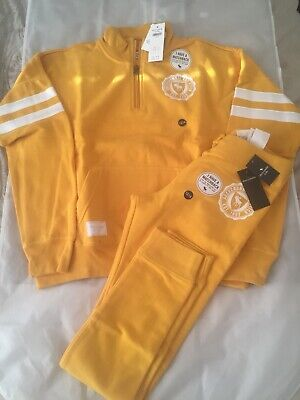 abercrombie and fitch Girls Aged 13-14 Years Or Woman UK6 Yellow Tracksuit...