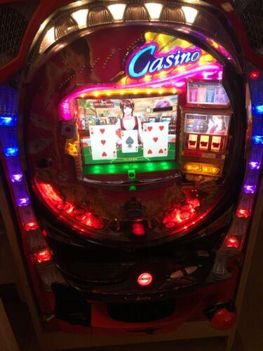 Casino Bisty Iijima Naoko Japanese Pachinko Machine Pinball