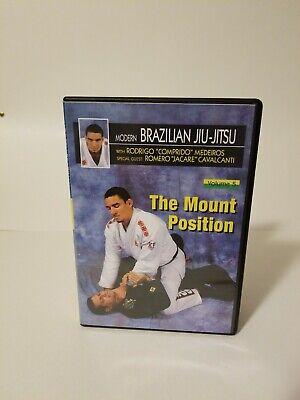 Modern Brazilian Jiu Jitsu #5 Mount Position DVD Rodrigo Comprido Medeiros BJJ
