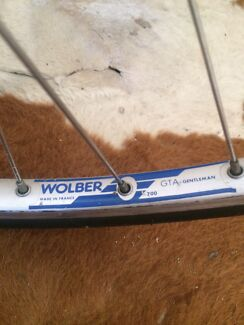 Vintage Wheels 700 Bike Bicycle Wolber GTA French France Used Marrickville Marrickville Area Preview