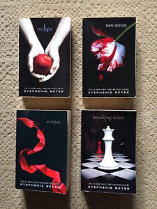 TWILIGHT SERIES - FULL SET OF FOUR PAPERBACKS