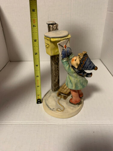 """Hummel Figurine A Letter to Santa 340 TMK4 7.25"""" Tall"""