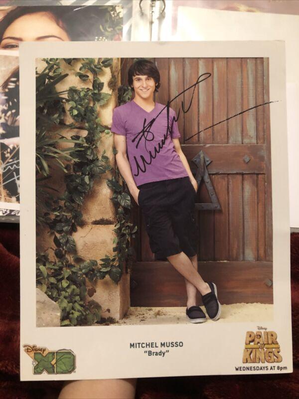 Mitchel Musso Disney Hannah Montana Autograph