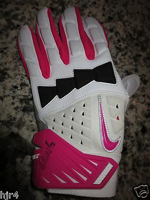 Arizona Cardinals #92 Pink Cancer NFL Game Used Glove Signed Autograph