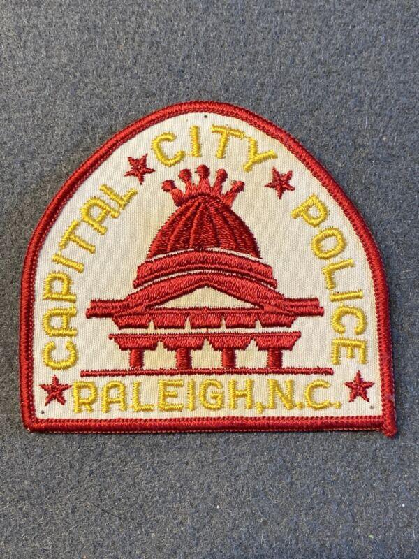 CAPITAL CITY POLICE RALEIGH NORTH CAROLINA